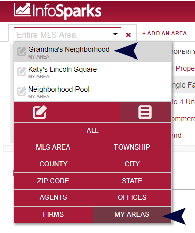 Choose an Area
